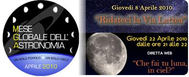 mese globale dell'astronomia
