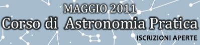 corso di astronomia 2011