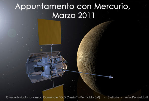 osservare il pianeta mercurio nel mese di marzo 2011