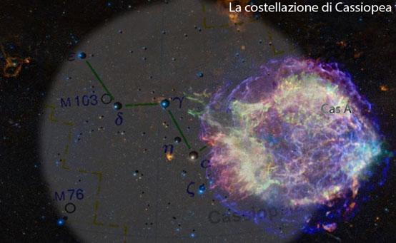 G.D.Cassini osservò la supernova che ha generato Cassiopea A?