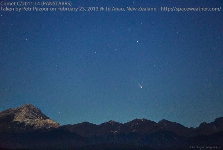 Osservare la cometa C/2011 L4 PanSTARRS