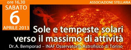 Sole e Tempeste Solare - Dr. A. Bemporad
