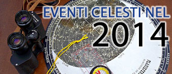 eventi celesti nel 2014