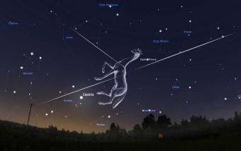 Una possibile straordinaria pioggia di meteore nelle notti di fine Maggio.