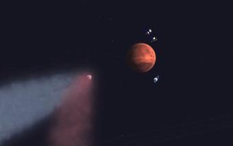 19 Ottobre 2014, lo storico incontro tra la cometa Siding Spring e Marte