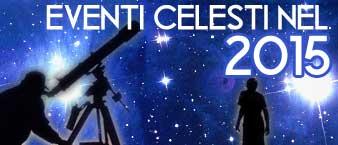 eventi celesti nel 2015