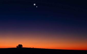 Gennaio 2015: il balletto serale di Venere e Mercurio