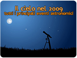 il cielo nel 2009