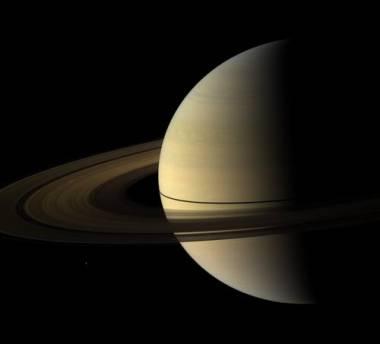 Saturno all'equinozio di primavera