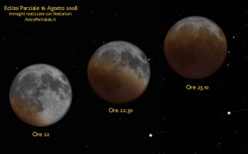 Eclissi parziale del 16 agosto