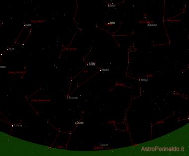 Cartina del cielo