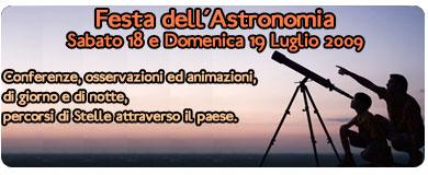 festa dell'astronomia 2009